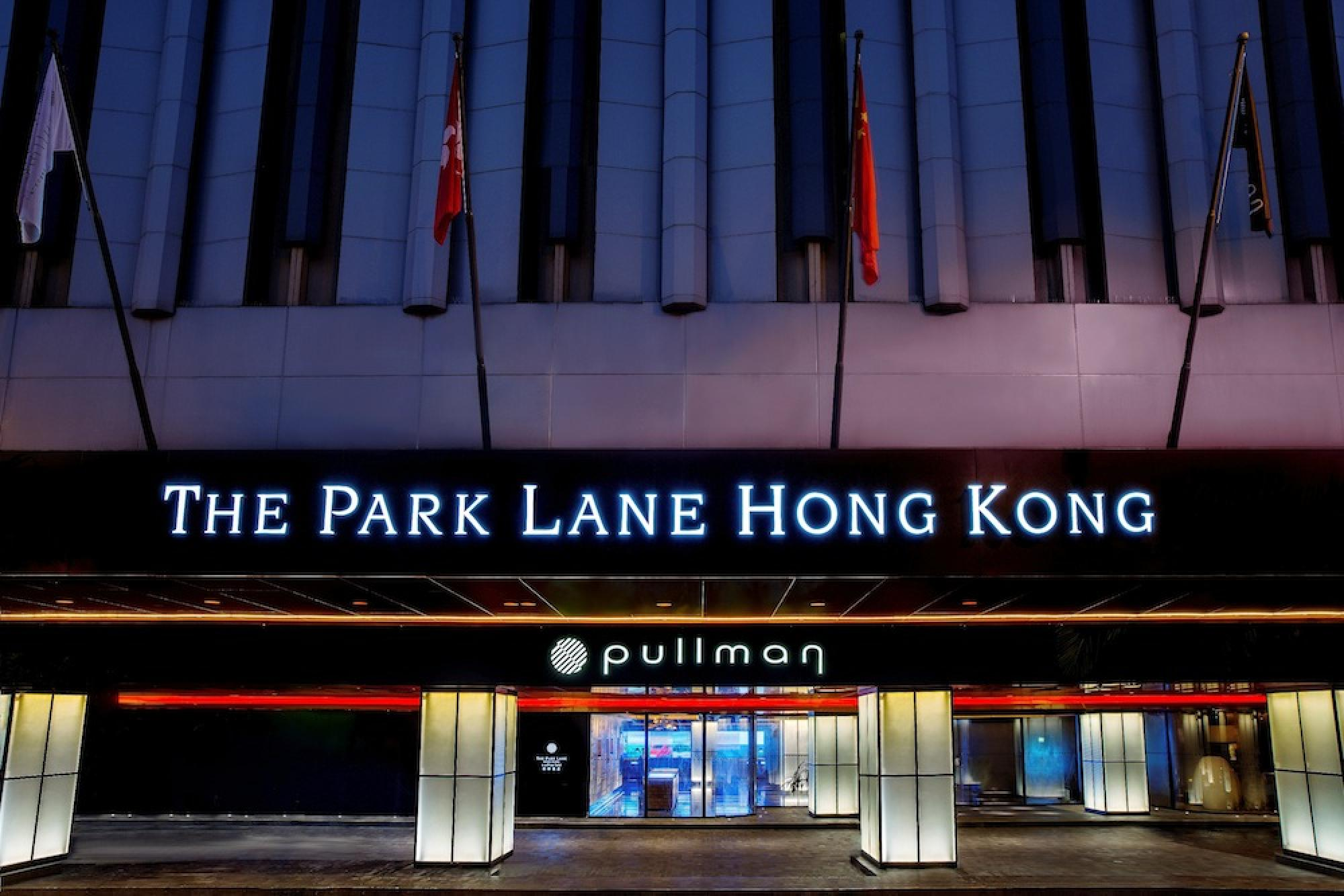 Park Lane Pullman Hong Kong Causeway Bay Luxury Accor Hotel entrance