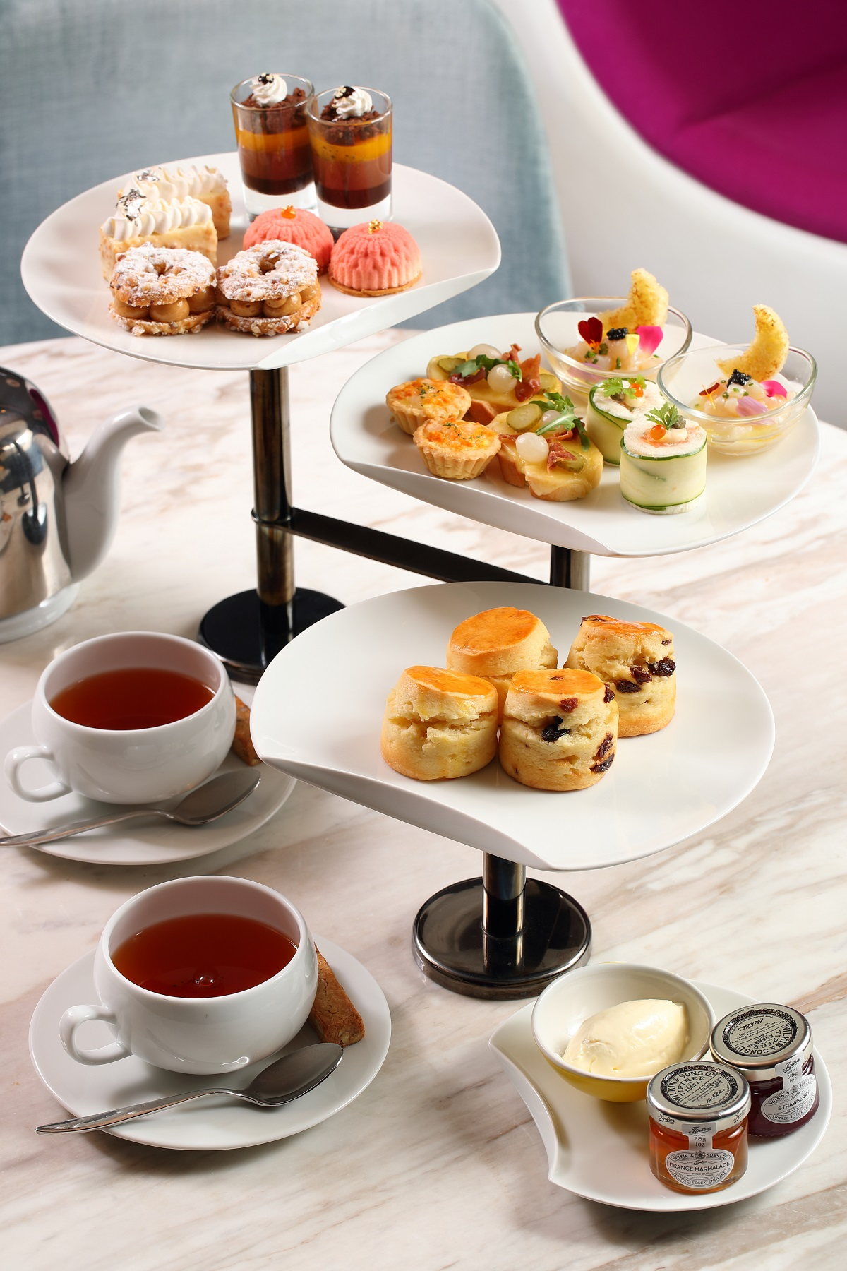 Ebb and Flow Afternoon Tea Hong Kong 5 star hotel The Park Lane Hong Kong a Pullman Hotel