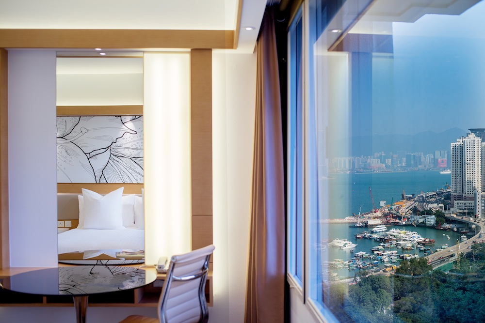 Park Lane Hong Kong a Pullman Hotel harbour view