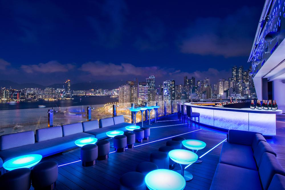 The Park Lane Hong Kong a Pullman Hotel SKYE rooftop bar